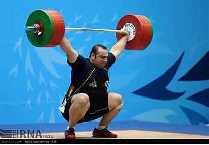Heavyweight Weightlifter Super Weightlifting Salimi Behdad Iran