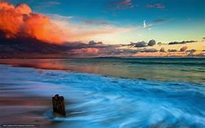 Fond Ecran Mer : scenery wallpaper fond d 39 cran gratuit paysage mer ~ Farleysfitness.com Idées de Décoration