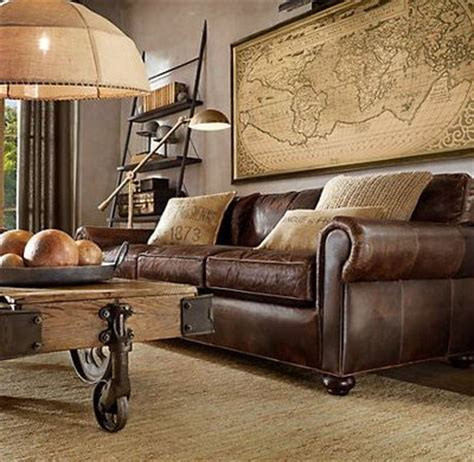 lancaster leather sofa restoration hardware for the