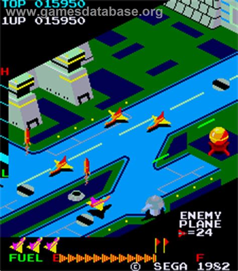 Super Zaxxon Arcade Games Database