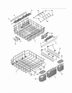 Frigidaire Fghd2465nf1a Dishwasher Parts