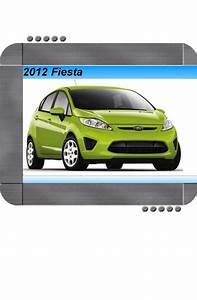 Ford Fiesta 2012 Factory Service  U0026 Shop Manual