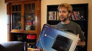 Sony Playstation 4  Ps4  Unboxing  Setup  U0026 System Config