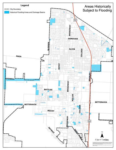 Emergency And Wet Weather Preparedness City Of Santa Maria