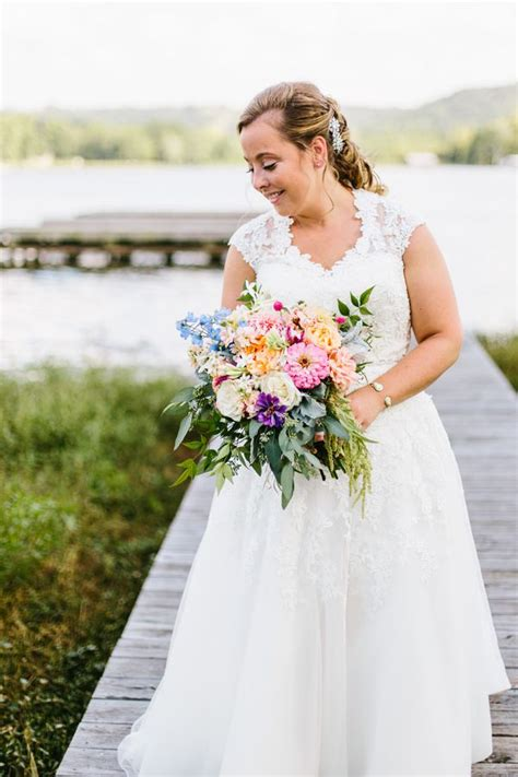 Southern Lake Wedding Rustic Wedding Chic