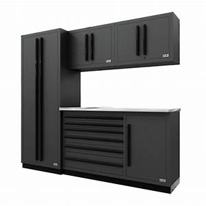 Fusion Pro Cabinets  U2013 5 Piece Tool Chest Set  U2013 Proslat Us