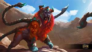 Manticore Bramble Wallpaper Heroes of Newerth Lore