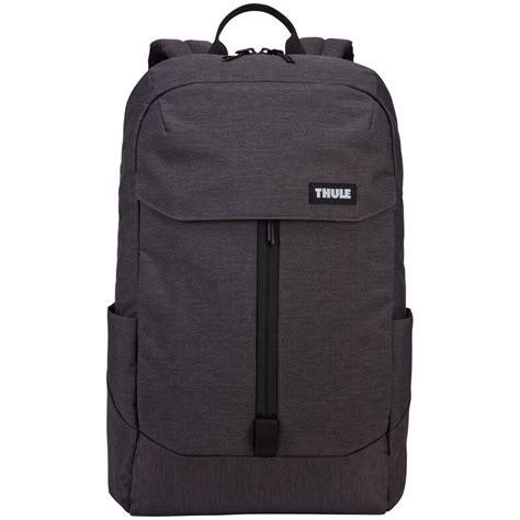 thule laptoptas lithos backpack  zwart bccnl