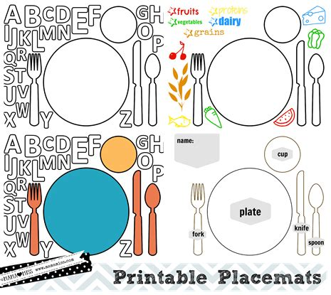 thanksgiving placemats  printable mamamiss