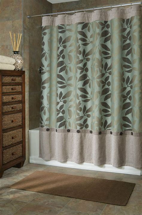 75 Shower Curtain by B Smith Ombre Leaves Fabric Shower Curtain 72 Quot X 75 Quot Ex
