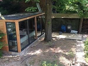 Abris De Terrasse En Kit : kit pour un abri de spa en douglas monter soi m me ~ Dailycaller-alerts.com Idées de Décoration