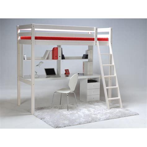 lit et bureau ado lit mezzanine ado avec bureau et rangement lit mezzanine
