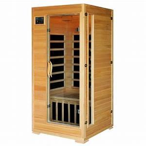 1 Mann Sauna : radiant sauna 1 to 2 person hemlock infrared sauna with 4 ~ Articles-book.com Haus und Dekorationen