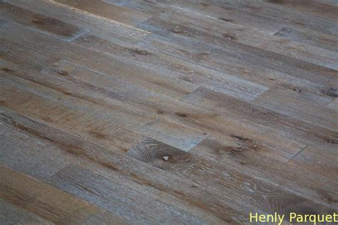 Refinishing Parquet Floors Before And After by Oak Engineered Flooring White Grain Grey Color