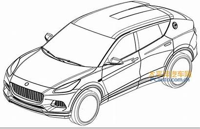 Lotus Suv Patent Drawings Drawing Volvo Pc