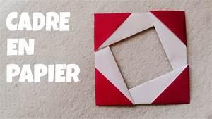 Bricolage Facile En Papier : comment faire un cadre photo en papier facile youtube ~ Mglfilm.com Idées de Décoration