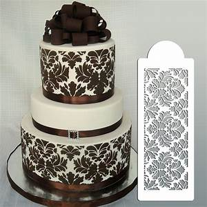 lace templates for cakes - buy wedding cake stencil cake border