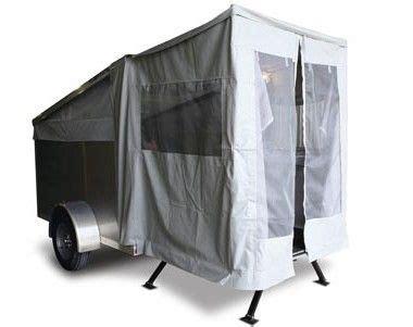 enclosed trailer screen door google search enclosed