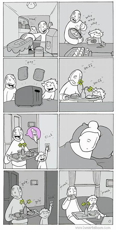Comics Lunarbaboon Mom Surprise Funny Phd Joyreactor