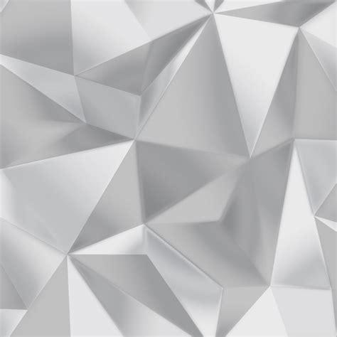 Grey 3d Wallpaper by Debona Spectrum Silver Grey 3d Effect Geometric Shape
