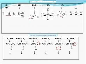 Ib Chemistry On Polarity  Hydrogen Bonding And Van Der