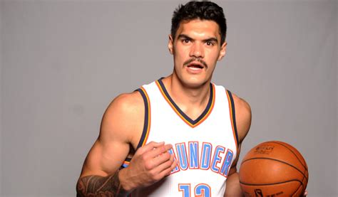 Thunder center Steven Adams is unrecognizable without his ...
