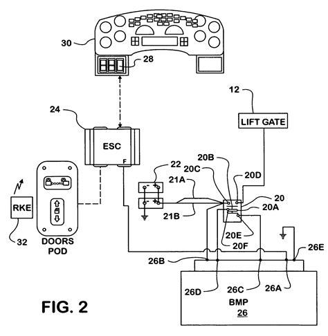 patent us7429804 lift gate power system patentsuche