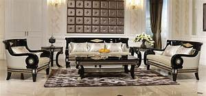 Amazing decoration of luxury living rooms for Furniture for one room living