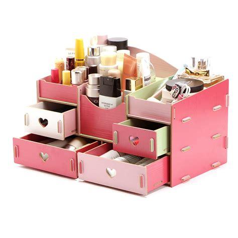 Rak Kosmetik Bahan Plastik jual promo 73 desktop storage rak kosmetik bahan kayu