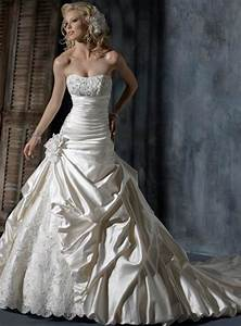 satin ball gown wedding dress With satin ball gown wedding dresses