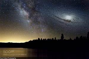 Milky Way Galaxy Collision with Andromeda