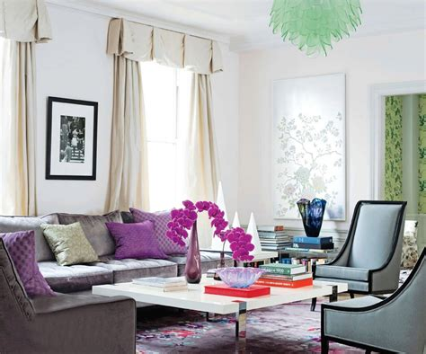 grey and purple living room wallpaper purple and gray living room tjihome