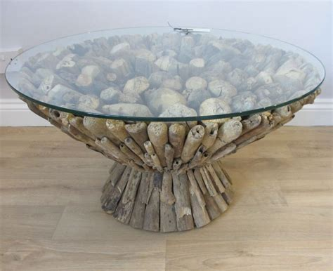 Another interesting idea instead of the driftwood look. Driftwood Coffee Tables For Sale   Roy Home Design