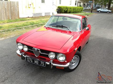 Alfa Romeo Gtv1750 Only Two Owners From New