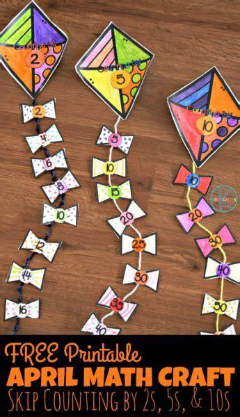 april math craft  homeschool deals
