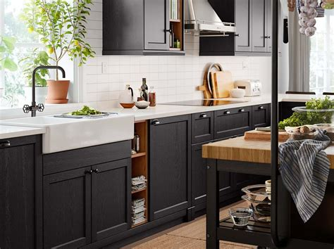 küchen inspiration ikea robust and organized with a touch of traditional character ikea