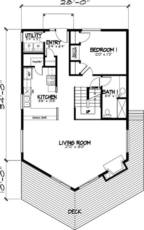 a frame cabin floor plans a frame cabin house plan 57437