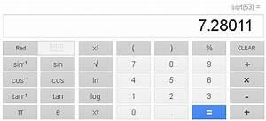 Wurzel Berechnen Ohne Taschenrechner : google stellt wissenschaftlichen taschenrechner in die ~ Themetempest.com Abrechnung