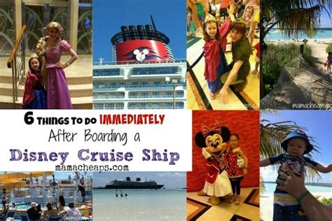 6 things to do immediately after boarding a disney cruise ship cheaps
