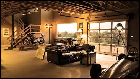 The Perfect Garage/living Room