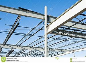 Structural Steel Construction Royalty Free Stock ...