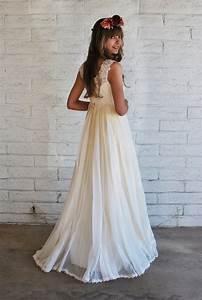 1960s boho wedding gown via etsy w e d d i n g for 60s style wedding dresses