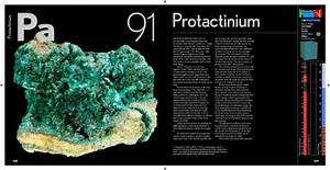 Protactinium In The Elements By Theodore Gray