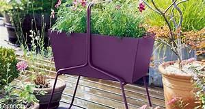 Jardiniere Haute Sur Pied : jardini re haute basket jardinchic ~ Melissatoandfro.com Idées de Décoration