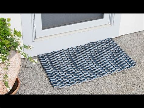 Doormat Company by Nautical Door Mat By The Rope Co The Grommet