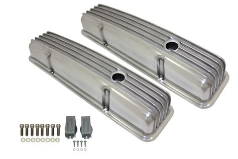 Aluminum Valve Covers Polished Chevrolet