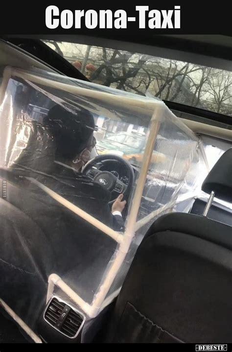 corona taxi   alberne witze witzige bilder