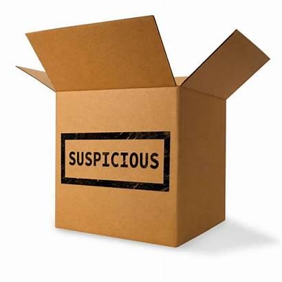 Package Suspicious Box Bomb Cardboard Open Dangerous