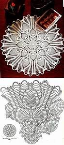Round Pineapple Doily Diagram  U22c6 Crochet Kingdom