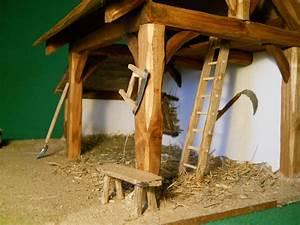 Creche De Noel En Bois A Faire Soi Meme : cr che de no l artisanale en bois gabrielle accessoires de maison par les creches de st ~ Dallasstarsshop.com Idées de Décoration